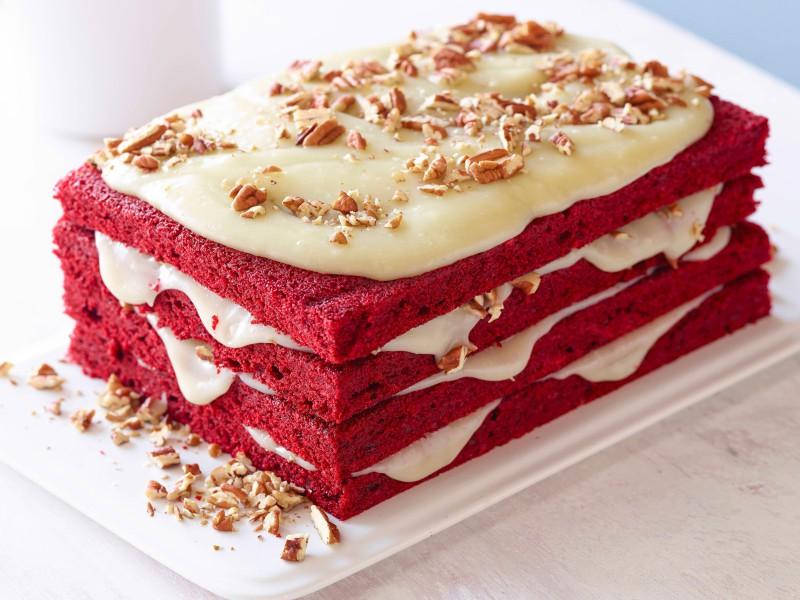 Торт «Красный бархат» | Luda.od.ua