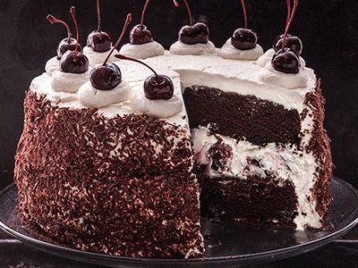 Торт «Черный лес» | Luda.od.ua